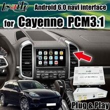 Android GPS de coche para Porsche Cayenne Porsche Panamera PCM 3,1 Interfaz de vídeo soporte Android auto y carplay por Lsailt
