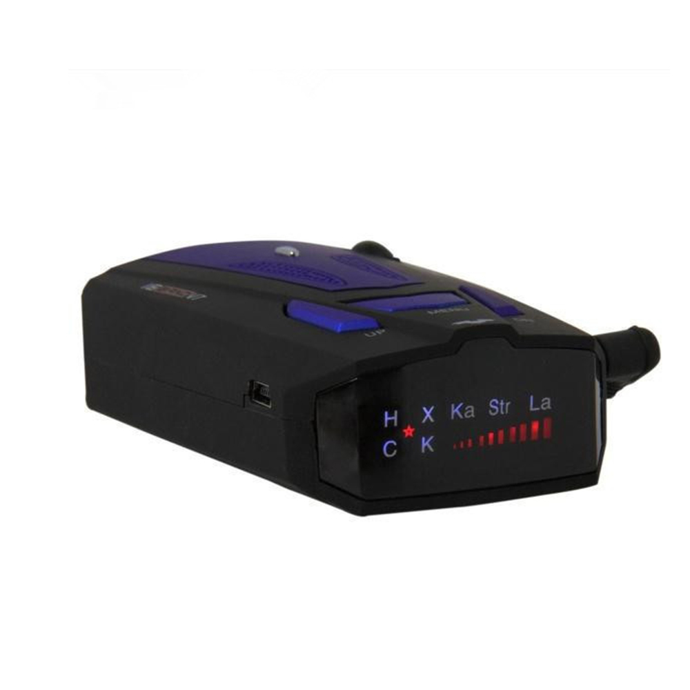 Car Radar Detector 360 Degree 16 Band Scanning LED Display Auto Detectors English or Russian Voice
