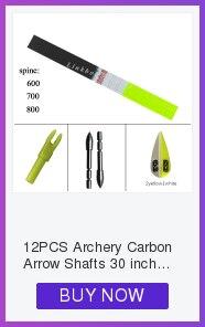 accessorice para recurvo arco tiro com arco caça 12 pçs