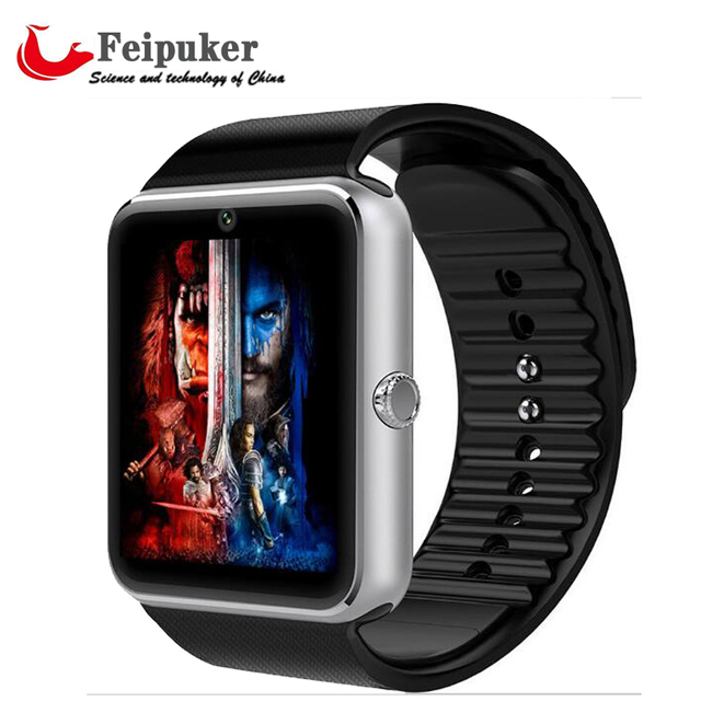 Smart Watch GT08 Clock With Sim Card Slot Push Message Bluetooth Connectivity Android Phone Better Than DZ09 Smartwatch