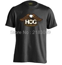 Eagle Motorcycle Mens & Womens Summer Cotton Short Sleeve Fashion T Shirt