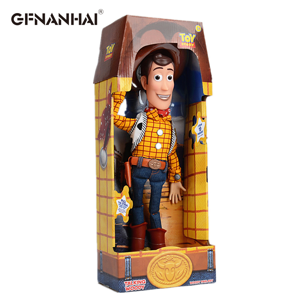 Figures Model-Toys Toy-Story Christmas-Gift Woody Children 3-Talking High-Quality 43cm