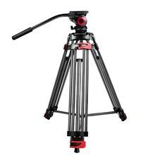 2017 Nouveau Professionnel Photographique Portable Trépied Pour Manfrotto avec Tête Pour REFLEX Numérique DSLR Caméra Fois 76 cm Max Charge 10Kg