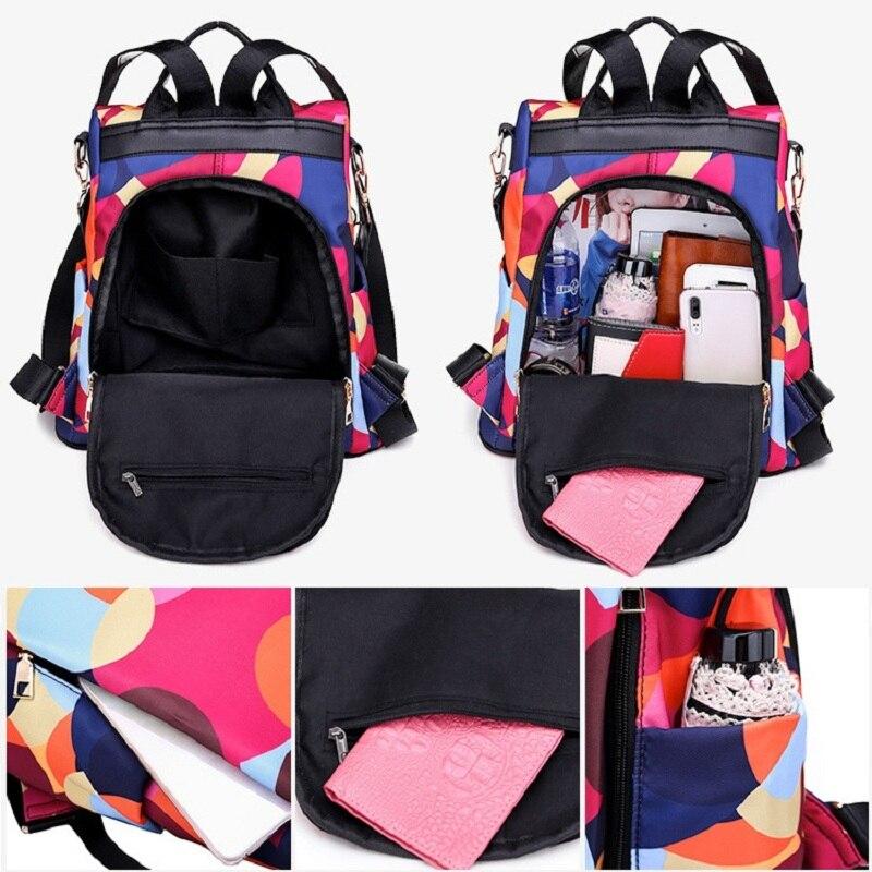 HTB1uofVe79E3KVjSZFGq6A19XXam Fashion backpack women shoulder bag large capacity women backpack school bag for teenage girls light ladies travel backpack