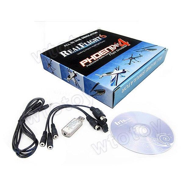 Câble de simulateur de vol USB 22 en 1 RC pour vol réel G7/G6 G5.5 G5 Phoenix 4