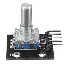 New 1pc KY-040 Rotary Encoder Module Brick Sensor Development Boards For Arduino high quality 2.5x 1.8 x3cm Circuit Board