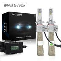 2x H1 H3 H7 H8 H9 H11 H16 9005 9006 9012 Auto Led-scheinwerfer Conversion Kit 8000lm Lumileds Chip Nebelscheinwerfer Lampe All In ein