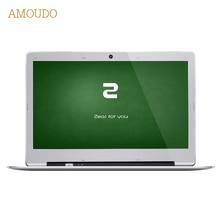 Amoudo 14 дюймов 8 ГБ Ram + 64 ГБ SSD + 750 ГБ HDD Intel Pentium Quad Core Windows 7/10 система 1920X1080 P FHD Ноутбук ноутбука