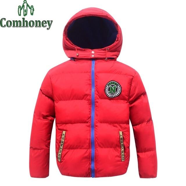 Детская Зимняя Куртка С Капюшоном Зимнее Пальто для Девочки Snowsuit детские Зимние Куртки и Ветровки Дети С Капюшоном Лыжный Костюм пальто