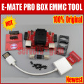 2016 HOT Newest  Original E-MATE PRO EMMC TOOL in support BGA -153/169, BGA -162/186, BGA -529, BGA -221  for Riff Box Free ship
