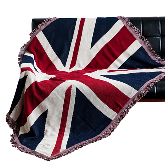 ФОТО British flag double-sided blanket blanket bed pad 230x250cm Free Shipping