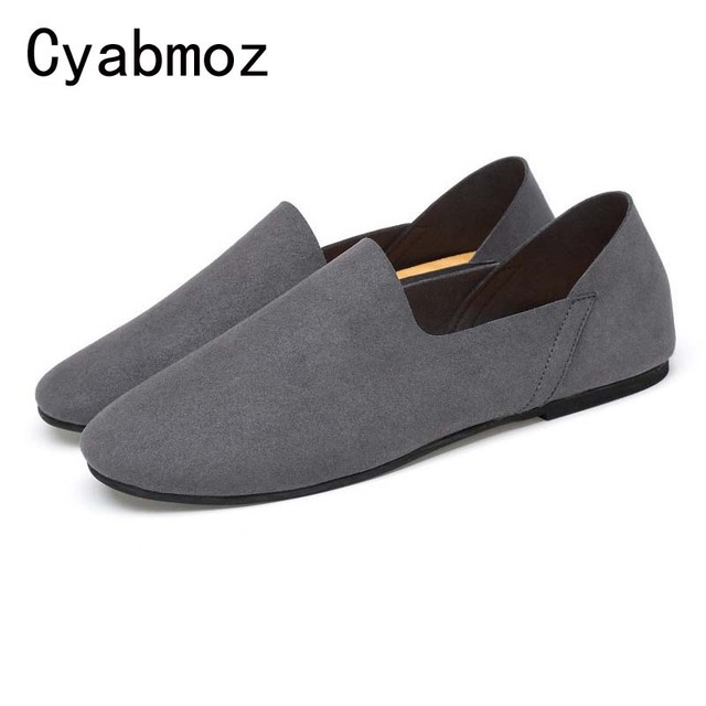 4fe7e53ace2 2018 New Arrival Casual Mens Shoes Men Loafers Soft Moccasins Fashion Slip  On Men Boat Shoes Comfortable Flats Driving Male Shoe
