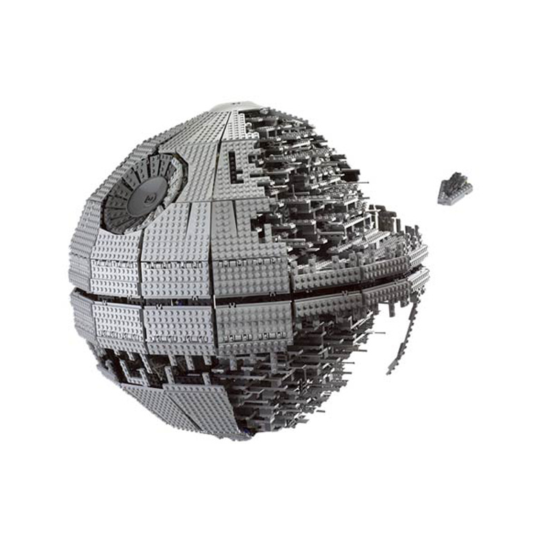 LEPIN 05026 Star Fighter Series Death sStar Interstellar Combat Building Blocks 3449pcs Bricks Toys Gift For Children
