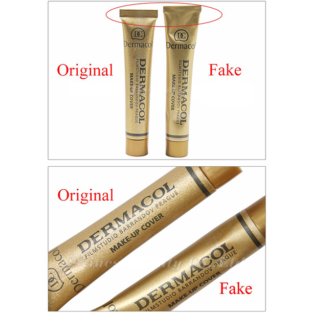 100% Original Dermacol Make up Cover 30g Base Dermacol Professional Primer Concealer Face Makeup Foundation Contour Palette Base 1