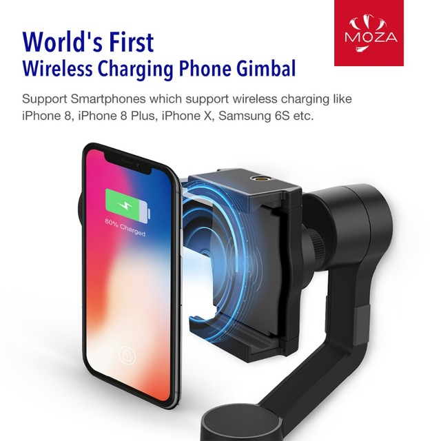 3-Axis Gimbal Stabilizer for iPhone X