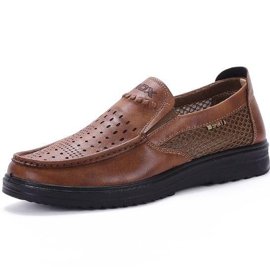 Cloth shoe summer mesh shoe covers the foot breathable soft bottom recreational man breathable shoeCloth shoe summer mesh shoe covers the foot breathable soft bottom recreational man breathable shoe