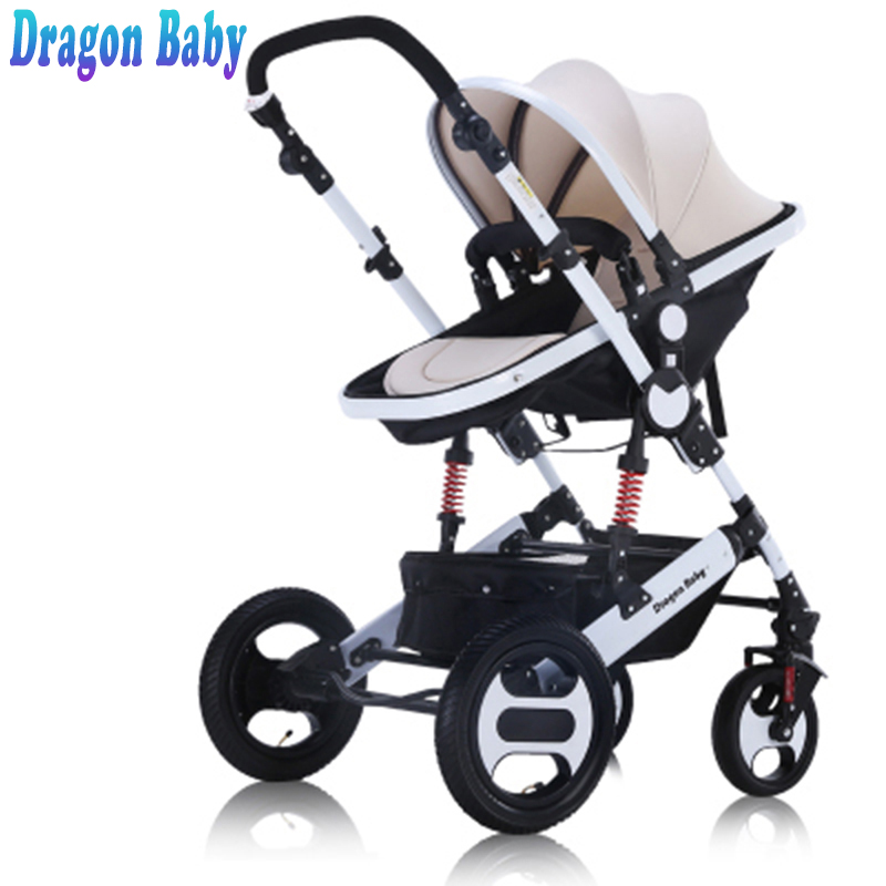 dragon baby - Dragon baby stroller dragon baby 2 in 1 baby strollers transformer, free shipping Free shipping in Russia