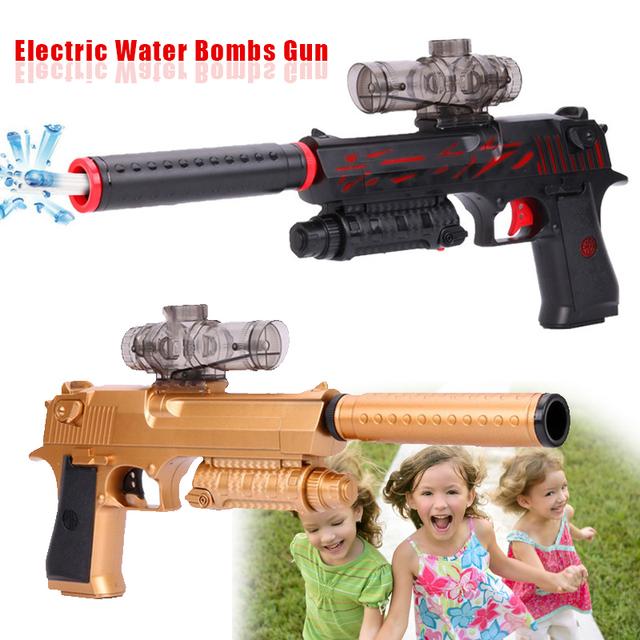 Ráfagas eléctrica Pistola de Agua Se Puede Cargar 500 mAh para Niños Niños Niños
