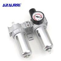 Trap filter control valve automatic drainage SFC 200 SFC 300 SFC 400 air compressor air filter regulator oil water separator