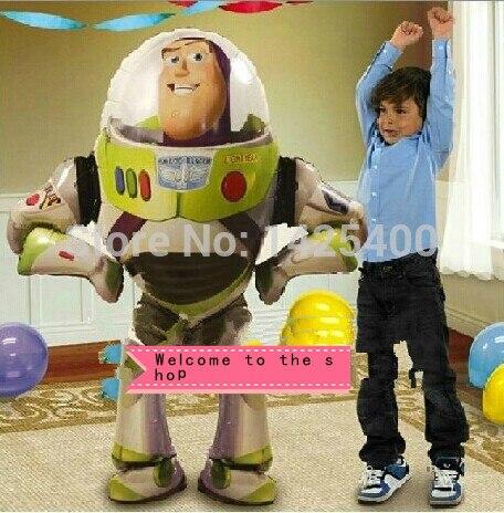 TSZWJ imported aluminum balloons imported aluminum stand Toy Story Buzz Lightyear balloon decoration balloon wholesale