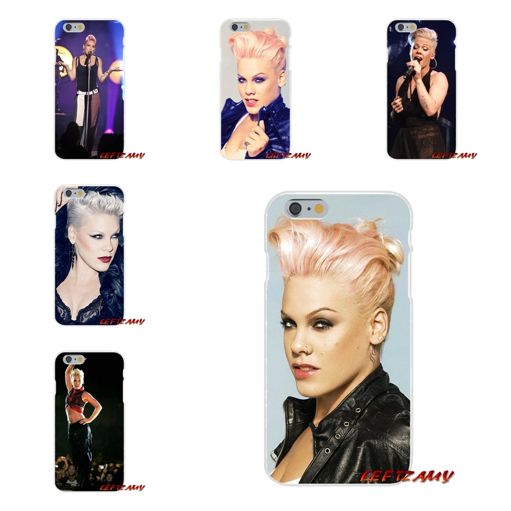 US $0 99 |PINK P!nk Alecia Beth Moore Singer Slim Silicone phone Case For  iPhone X 4 4S 5 5S 5C SE 6 6S 7 8 Plus-in Half-wrapped Cases from  Cellphones