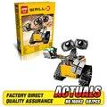 Mais novo Lepin 16003 687 pcs dea Robô WALL E Conjunto De Construção Kits BlocksBringuedos Tijolos Brinquedo Bonito Para Crianças