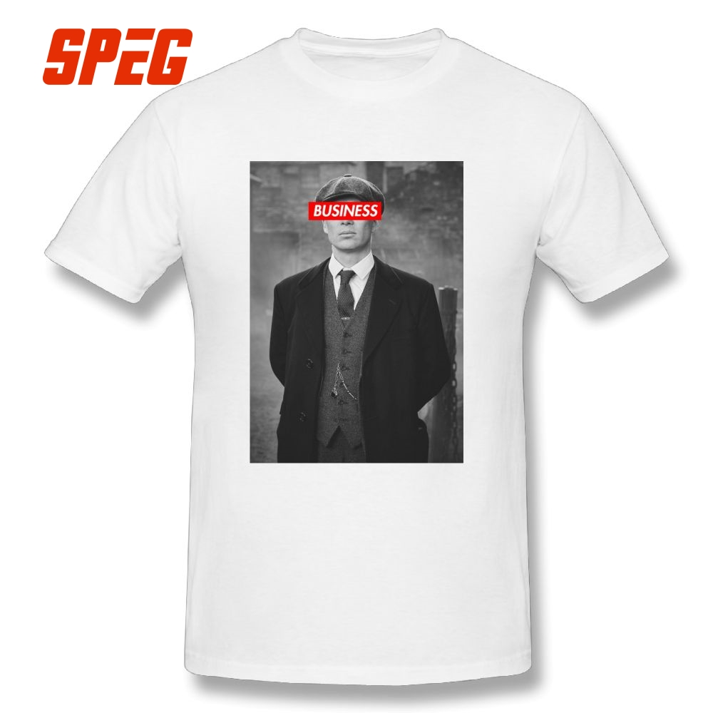 Peaky Blinders   T  -  Shirts   Tommy Shelby Design O-Neck Men's Short-Sleeve Tee   Shirts   Pure Cotton   T     Shirts   Print