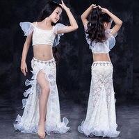 Children child girl kid Bellydance oriental Belly Indian dance dancing costume clothes bra belt scarf ring skirt dress set suit