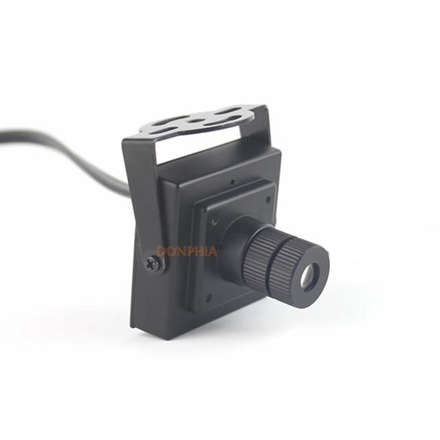 Donphia mini cctv câmera de 25mm lente de ângulo de visão 10 graus 700TVL 800TVL full HD para uso interno de Vigilância interior Analógico câmera
