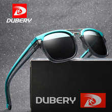 DUBERY Spuare Mirror Sunglasses Brand Design Polarized Men Driver Shades Male Sun Glasses For Oculos De Sol D1948