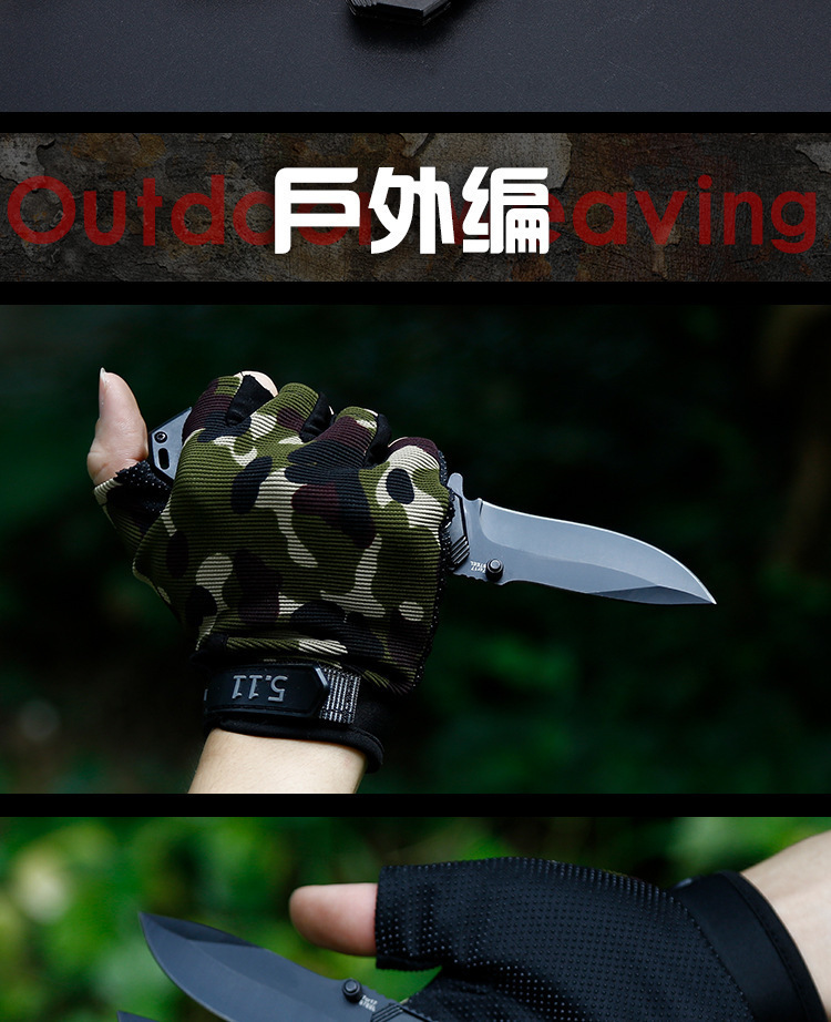 Folding Tactical Knife For Camping & Hunting 15