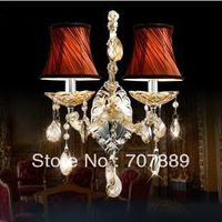 Darmowa dostawa! Nowoczesne luksusowe lampy ścienne, lustro przednie światła lampy tkaniny ścienne do sypialni nocna wl034, również hurtową