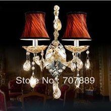 Современный роскошный стена лампы, Зеркало перед лампа ткань стена лёгкие для спальня ночники wl034, Также для