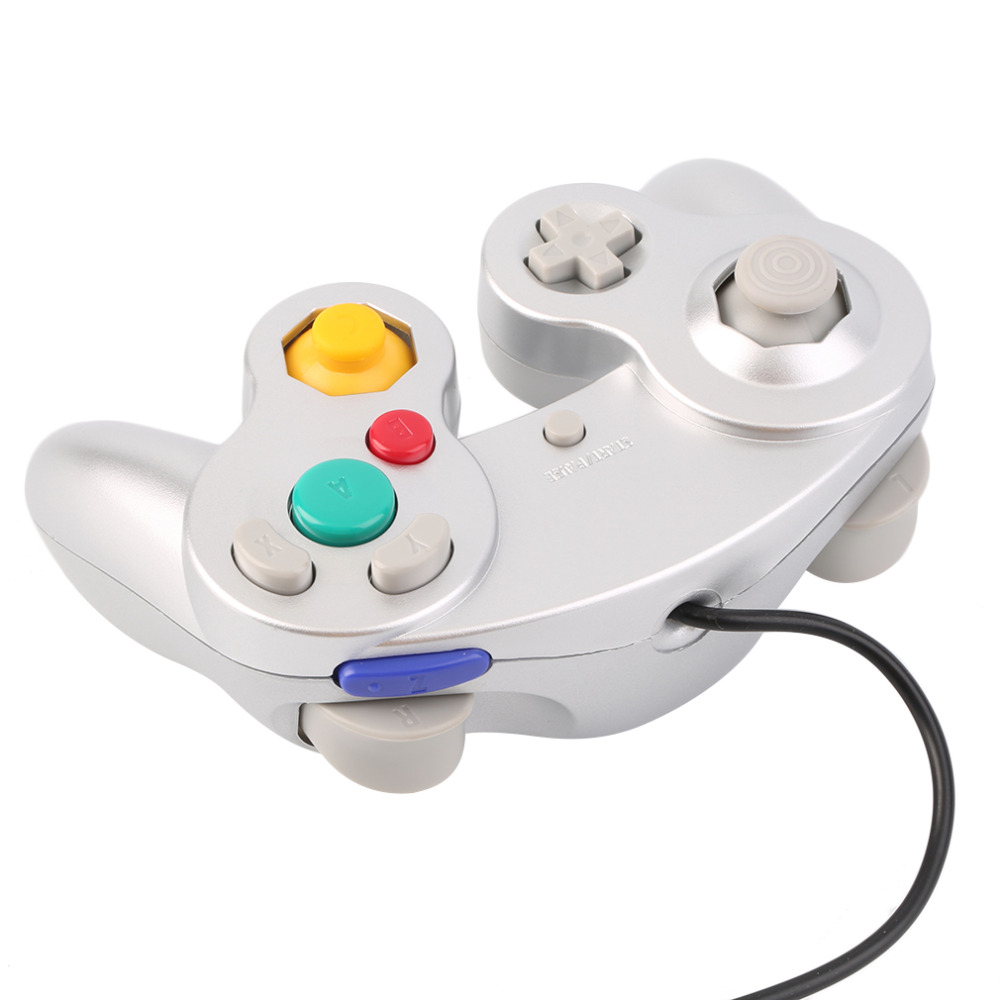 Gamepads Game Controller Pad Joystick for Nintendo Game Cube or for Wii light shooting game gun for nintendo wii controller