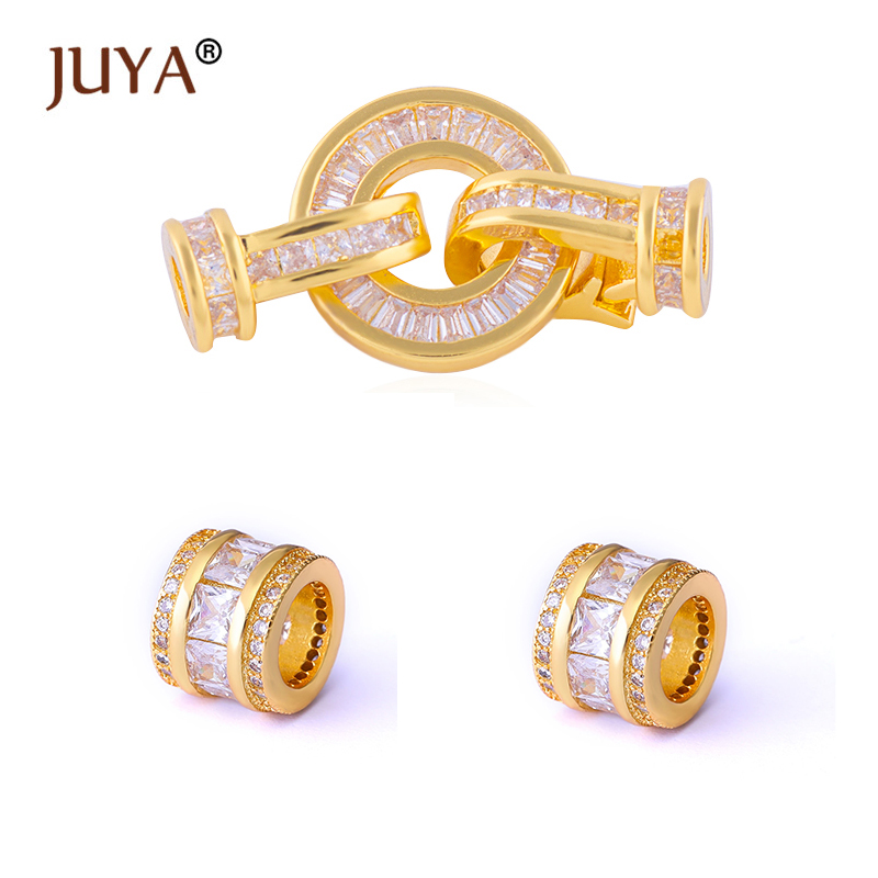 Jewellery Making Supplies Top Quality AAA Crystal Clasps For Bracelets Necklaces Hand Made Diy Jewelry Findings Componments