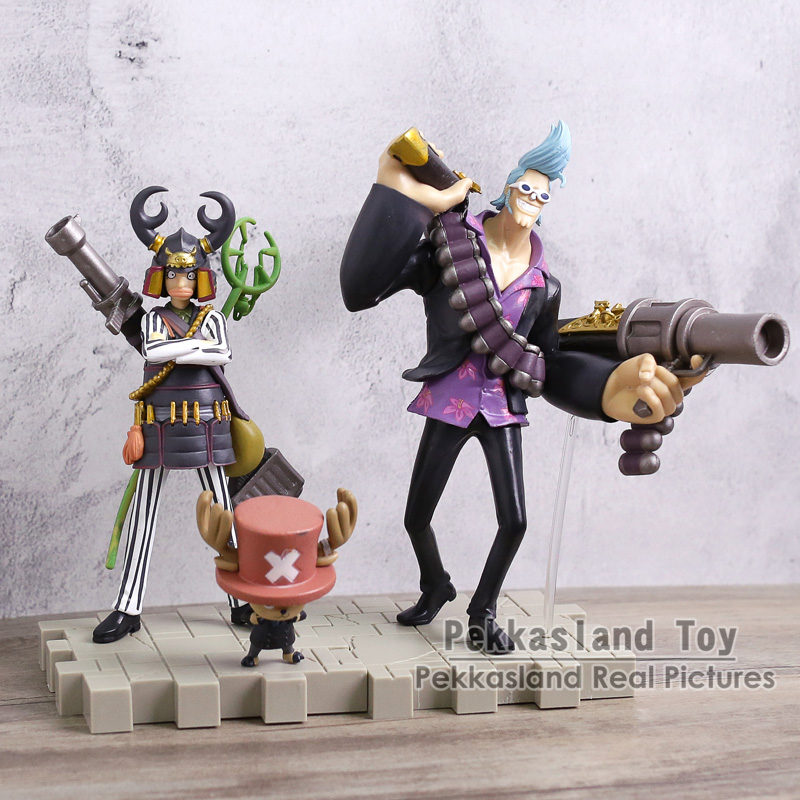 One Piece Strong World Black Suit Luffy Zoro Sanji Chopper Nami Robin Franky Usopp Brook Anime PVC Figures Toys 9pcs/set new high quality one piece hoodie anime roronoa zoro sanji luffy cosplay coat jacket winter men thick zipper warm sweatshirt