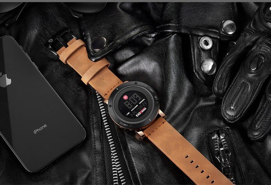 KADEMAN Army Military Luxury Brand Men's Watches Men Sports Watch Quartz Digital Clock Man Leather Wrist Watch Relogio Masculino (18)