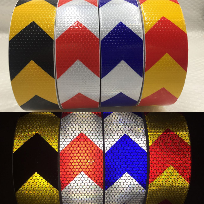 20Roll Wholesale Express Reflective Strips Car Stickers for car-styling Motorcycle decoration Automobiles Safety Tape 58 8cm stark industries iron man stark industry body decoration stickers reflective car stickers n7880