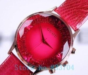 2016 New style Summer Women Watches Fashion Lady Luxury Wristwatches Female Genuine Leather watch Ladies Bracelet Watch Freeship