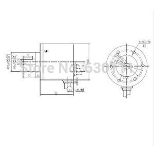 Image 3 - Free Shipping  Incremental rotary encoder 600 lines