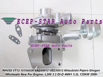 טורבו RHV5 RHV5S 1515A026 VT12 VT-12 VAD30012 VED30012 עבור מיצובישי פאג 'רו V80 V90 שוגון L200 3.2 DI-D 2006-4M41 3.2L 125KW