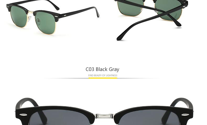 HTB1uomCPVXXXXXaXVXXq6xXFXXXg - 2018 TOP 16 Color Lens Luxury Brand High Quality Rays Sunglasses Women Men Round Shades Ladies Aviator Sun Glasses UV400