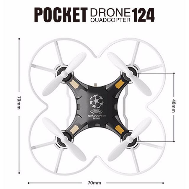 Delta HR2 Mini Quadcopter Drone 4CH 6Axis Gyro
