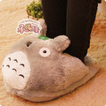 Free Shipping Cartoon Totoro Totoro Plush Feet Warm Home Slippers Cotton Slippers Computer