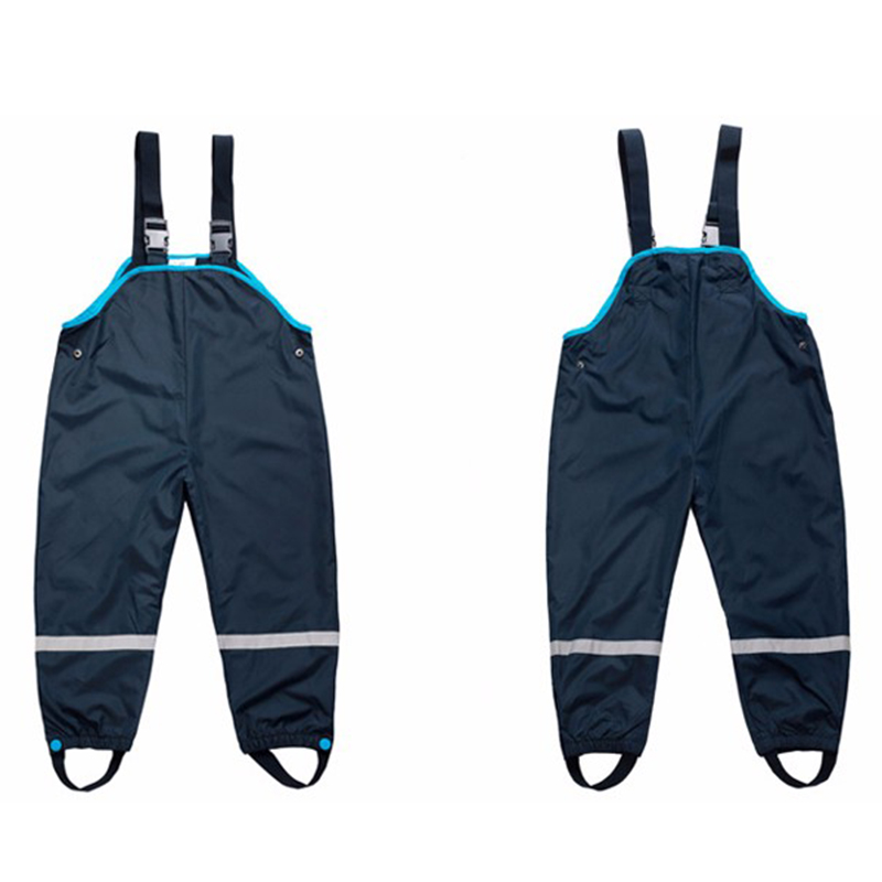 Boy Overall Rain-Pants Girls Baby Waterproof Kids Children Clothing And Spring 2-7yrs