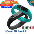 In Stock 100% Original Xiaomi Mi Band 2 Miband Band2 Wristband Bracelet with Smart Heart Rate Pulse Fitness Touchpad OLED Screen