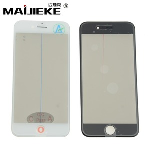 Image 1 - MAIJIEKE 4 in 1 Cold Press Front Screen Outer Glass+Frame OCA+Polarizer For iPhone 8 7 6 6s plus 5 5s Screen Glass Replacement
