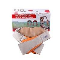 With Gift Box Beurha U Shape Electrical Shiatsu Back Neck Shoulder Body Massager Infrared Heated