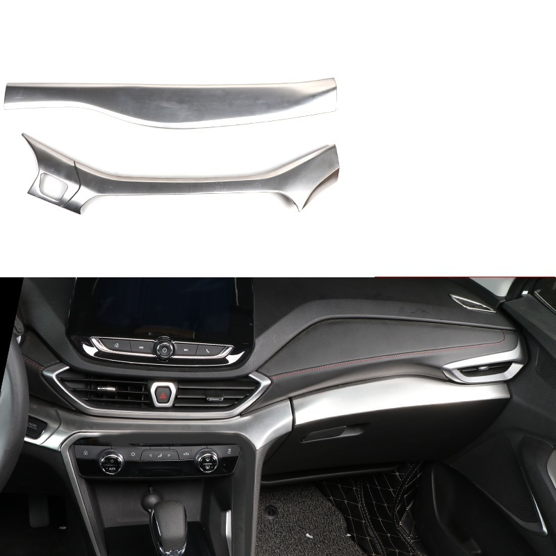 Door Handle Dashboard Automobile Auto Modified Upgraded Car Styling Decoration Covers Accessory 18 19 FOR Chevrolet Orlando(China)