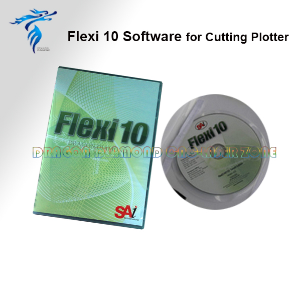 Contour Cutting software Flexi10 Only suitable for Kuco Vinyl Cutter Plotter Machine free shipping artcut software 2009 for vinyl cutter plotter cutting plotter